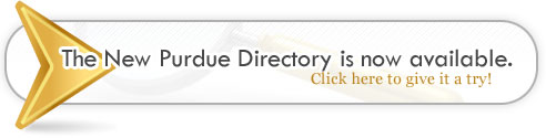 Try the new Purdue Directory Search