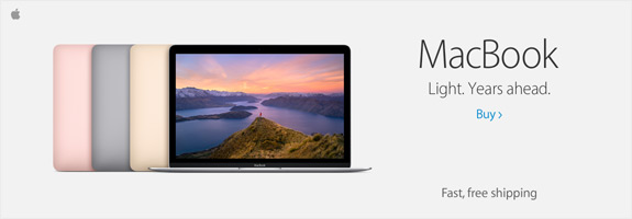 Mac Book: Light. Years ahead. Click link to buy.
