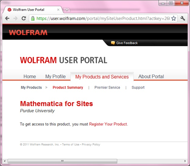 Mathematica for Sites