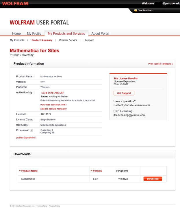 Download Mathematica