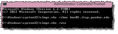 slmgr command with ato switch