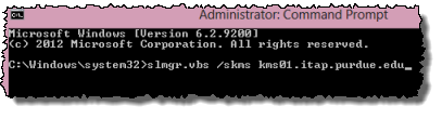slmr command with skms option